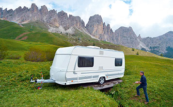 Caravan-Mover przekladnia-czolowa